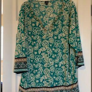 Plus size tunic shirt